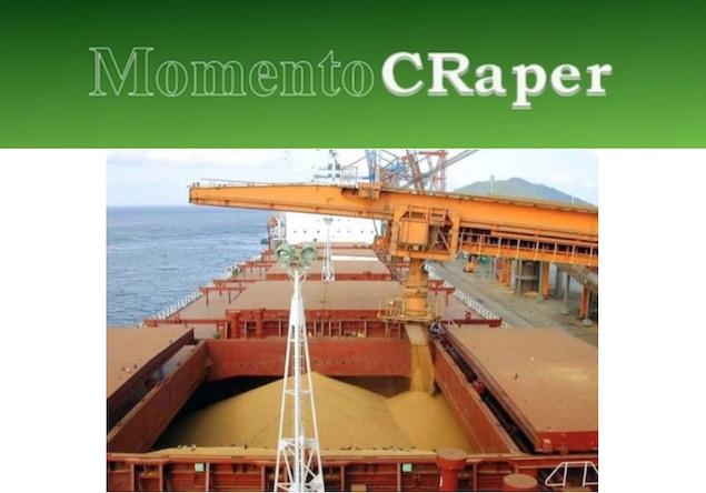 Momento CRaper - Exportação Recorde de Soja em Março